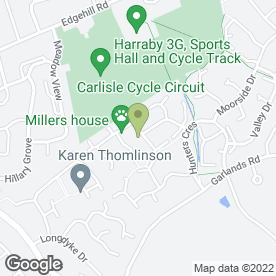 Map of Martin Bell Chimney Sweep Services in Carlisle, cumbria