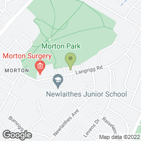 Map of The Morton Surgery in Carlisle, cumbria