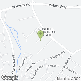 Map of Craig Robinson Vets Ltd in Rosehill Industrial Estate, Carlisle, cumbria