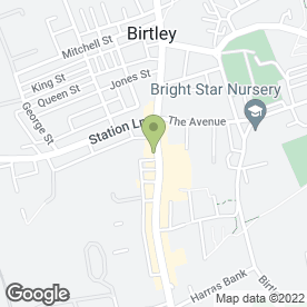 Map of Hair Flair Beauty Salon in Birtley, Chester Le Street, county durham
