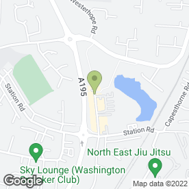 Map of Bizzy Lizzys Takeaway in Washington, tyne and wear
