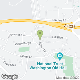 Map of Looking Good Beauty Salon in Washington, tyne and wear