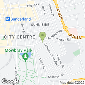 Map of The Lunchbox in Sunderland, tyne and wear