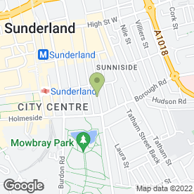 Map of Complete Site in Sunderland, tyne and wear