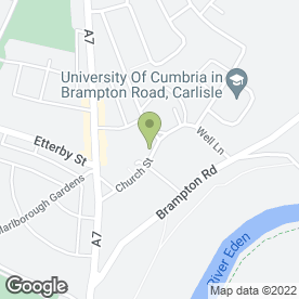 Map of Comfortzone Air Conditioning (Carlisle) Ltd in Stanwix, Carlisle, cumbria