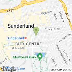 Map of C & C Design Consultants Ltd in Sunderland, tyne and wear