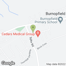 Map of Cedars Medical Group in Burnopfield, Newcastle Upon Tyne, tyne and wear