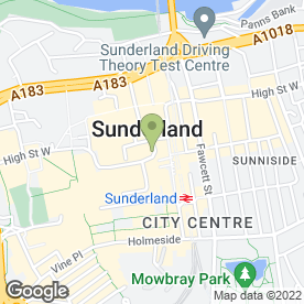 Map of Timpson Locksmith & Safe Engineers in Sunderland, tyne and wear