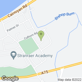 Map of J & J RUNCIE PLASTERERS in Stranraer, wigtownshire