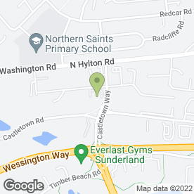 Map of Nixon Hire in Sunderland, tyne and wear