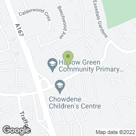 Map of Revive in Gateshead, tyne and wear