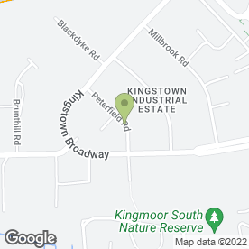 Map of TNT Special Services in Kingstown Industrial Estate, Carlisle, cumbria