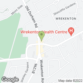 Map of Wrekenton Sub P.O in Wrekenton, Gateshead, tyne and wear