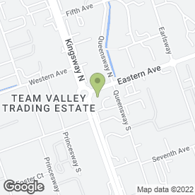 Map of COFFEE QUARTER in Team Valley Trading Estate, Gateshead, tyne and wear