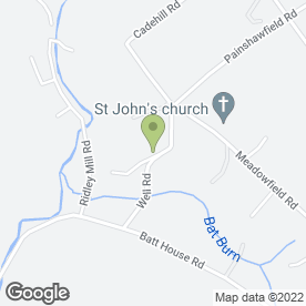 Map of Tim Coulter in Stocksfield, northumberland