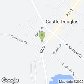 Map of Southwest ARB in Castle Douglas, kirkcudbrightshire