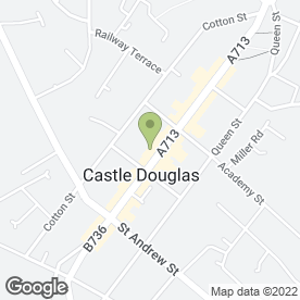 Map of Simply Delicious in Castle Douglas, kirkcudbrightshire