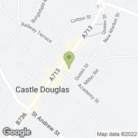 Map of GOWANS in Castle Douglas, kirkcudbrightshire