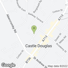 Map of The Co-operative Food in Castle Douglas, kirkcudbrightshire