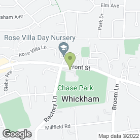 Map of Suzanne Graham Estate Agents in Whickham, Newcastle Upon Tyne, tyne and wear