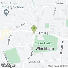 Map of Pagoda in Whickham, Newcastle, tyne and wear