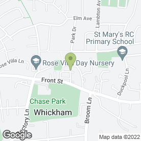 Map of Croft Vets in Whickham, tyne and wear