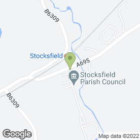 Map of Stocksfield Sub Post Office in Stocksfield, northumberland