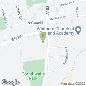 Map of Neucomm Services Ltd in Whitburn, Sunderland, tyne and wear