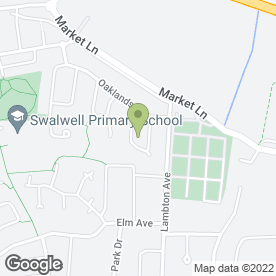 Map of Paul Harvey Joinery in Swalwell, Newcastle Upon Tyne, tyne and wear