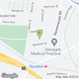 Map of Dunston Whickham & Metro Taxis in Gateshead, tyne and wear
