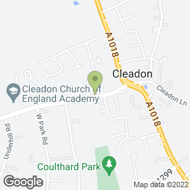 Map of Relax & Glow in Sunderland, tyne and wear