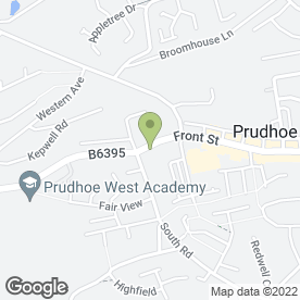 Map of Burn Brae Community Care in Prudhoe, northumberland