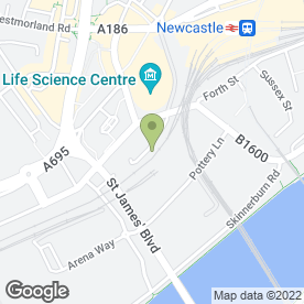 Map of Gimar - Food & Drinks in Newcastle Upon Tyne, tyne and wear
