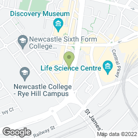Map of Malhotra & Co.Ltd in Newcastle Upon Tyne, tyne and wear