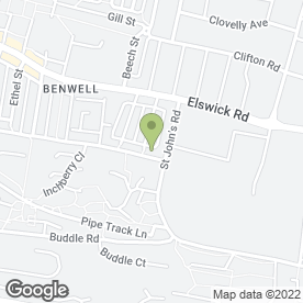 Map of Cornerstone Benwell Christian Shop Project in Newcastle Upon Tyne, tyne and wear