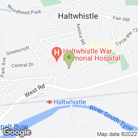 Map of Innovations Hair & Beauty in Haltwhistle, northumberland