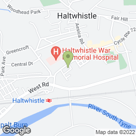 Map of Cheryl's Catering in Haltwhistle, northumberland