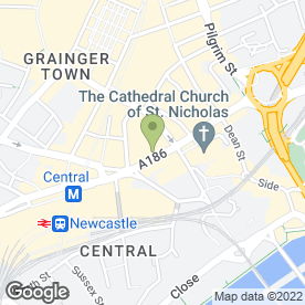 Map of Florita's in Newcastle Upon Tyne, tyne and wear