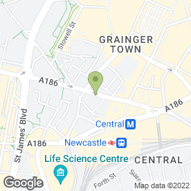 Map of Serenity Bridal Ltd in Newcastle Upon Tyne, tyne and wear
