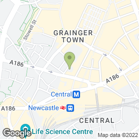 Map of SAMUEL PHILLIPS LAW FIRM in Newcastle Upon Tyne, tyne and wear