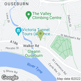 Map of Nomis Systems Ltd in Newcastle Upon Tyne, tyne and wear