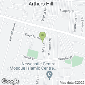 Map of AUTO REPAIR CENTRE in Newcastle Upon Tyne, tyne and wear