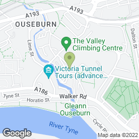 Map of Quay Timber in Newcastle Upon Tyne, tyne and wear