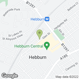 Map of Smith Bros (Hebburn & Jarrow) Ltd in Hebburn, tyne and wear