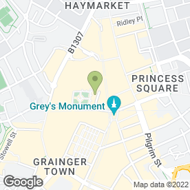 Map of Quiz Clothing in Newcastle Upon Tyne, tyne and wear