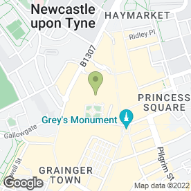 Map of Monsoon Accessorize Ltd in Newcastle Upon Tyne, tyne and wear