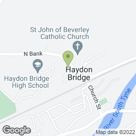 Map of Haydon Bridge Health Centre in Haydon Bridge, Hexham, northumberland