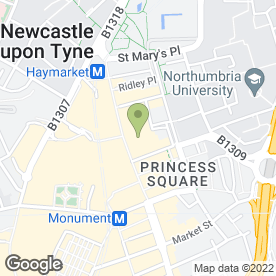 Map of Superdrug Stores plc in Newcastle Upon Tyne, tyne and wear