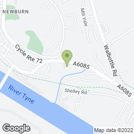 Map of H Pringle in Newburn, Newcastle Upon Tyne, tyne and wear