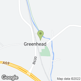 Map of K & G Fuels in Greenhead, Brampton, cumbria
